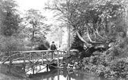 Buxton, Hall Gardens c.1865