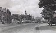 Buxton, Market Place c.1955