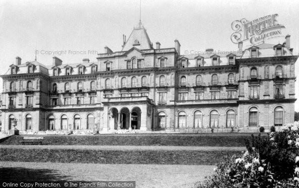 Buxton, Palace Hotel 1894
