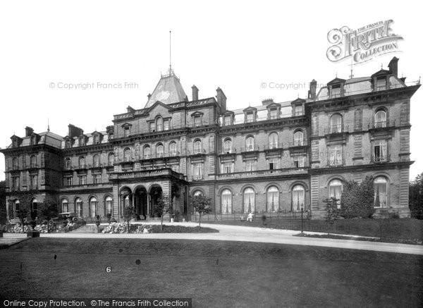 Buxton, Palace Hotel 1923