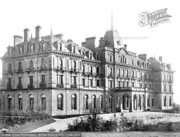 Buxton, Palace Hotel c.1885
