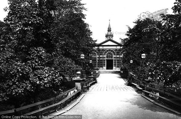 Buxton, Pavilion Gardens 1890