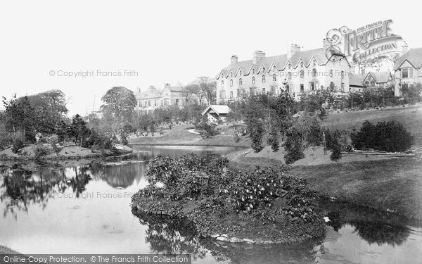 Buxton, Pavilion Gardens And Broad Walk c.1873