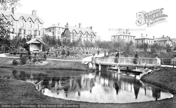 Buxton, Pavilion Gardens And Broad Walk c.1873