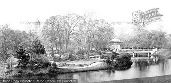 Buxton, Pavilion Gardens c.1871