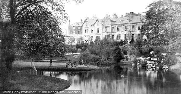 Buxton, Pavilion Gardens c.1873