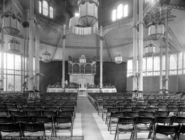 Buxton, Pavilion Gardens, Concert Hall 1932