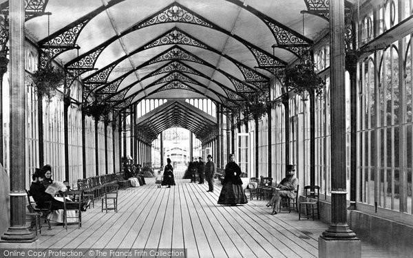 Buxton, Promenading Corridor, The Pavilion c.1871