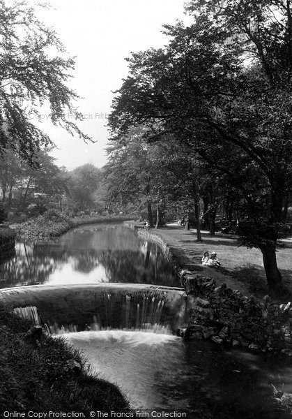 Buxton, Serpentine Walks 1914
