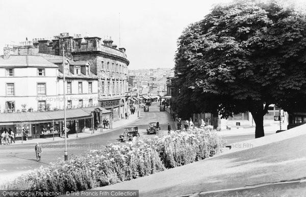 Buxton, Spring Gardens c.1955