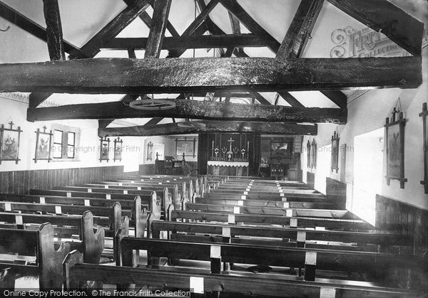 Buxton, St Anne's Church Interior 1890