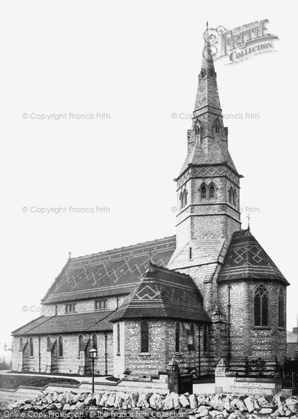 Buxton, St James' Church c.1876