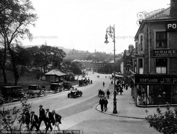 Buxton, Terrace Road 1923