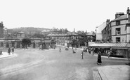 Buxton, Terrace Road And Spring Gardens 1932