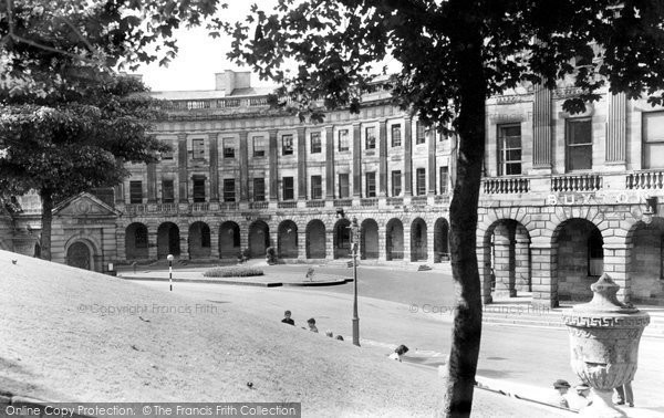 Buxton, The Crescent c.1955