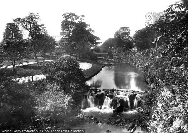 Buxton, The Gardens 1903