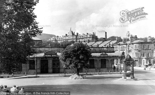 Buxton, The Thermal Baths c.1955