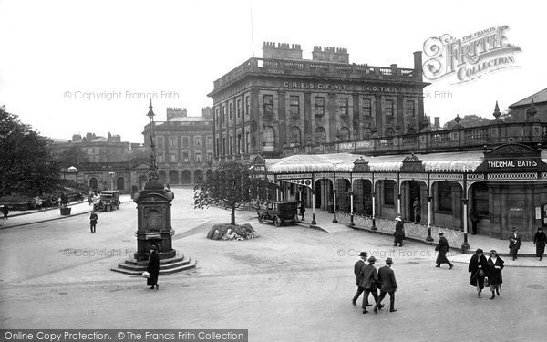 Buxton, Thermal Baths And Crescent 1923
