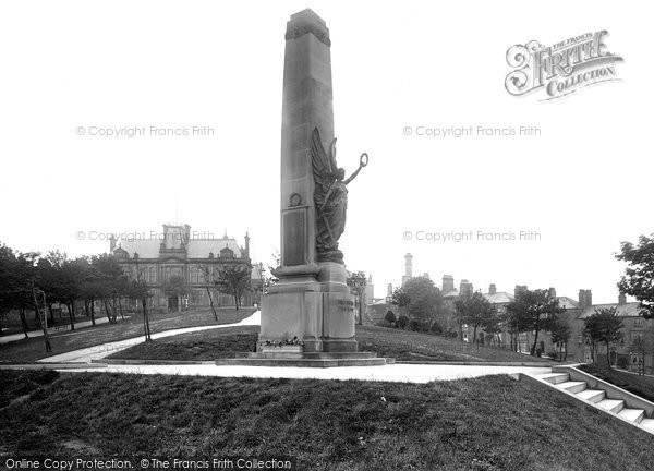 Buxton, War Memorial 1923