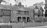 Byfleet, Civic Restaurant c.1955