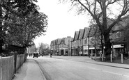 Byfleet, High Road c1955