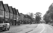 Byfleet, High Road c.1955