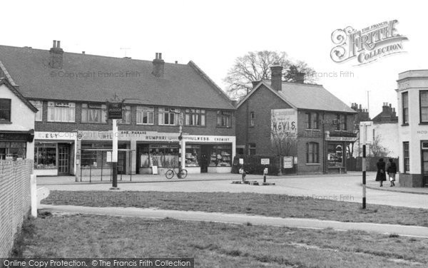 Photo of Byfleet, Plough Corner c1955