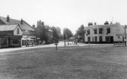 Byfleet, Plough Corner, High Road c.1960