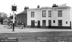 Byfleet, Plough Inn c1955