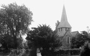 Byfleet, St Mary's Church c.1960