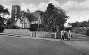 Caister-On-Sea, Church Corner c.1955