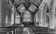 Caister-On-Sea, Church Interior 1908