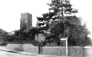 Caister-On-Sea, Holy Trinity Church 1908