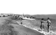 Caister-On-Sea, The Beach c.1955