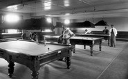 Caister-on-Sea, The Holiday Camp, The Billiard Room c.1960