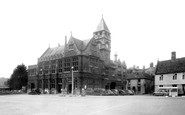 Calne, the Town Hall c1955