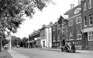 Camberley, London Road c1955