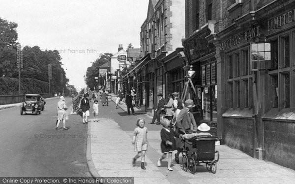 Camberley, Pram In London Road 1927