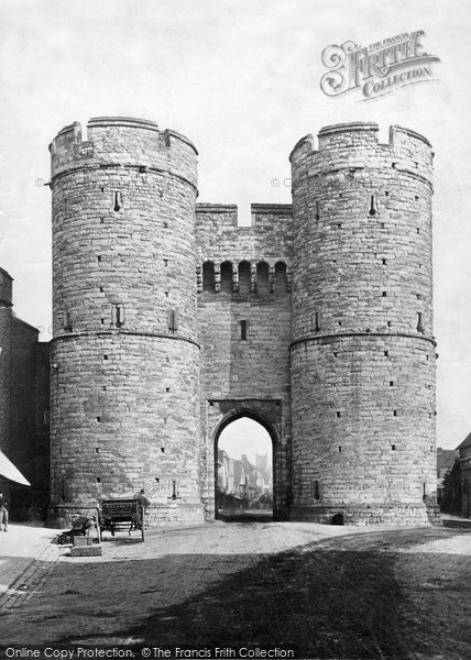 Canterbury West Gate Francis Frith