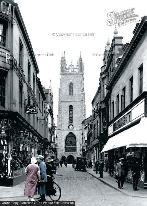 Church Street Cardiff Cardiff Church Street 1925