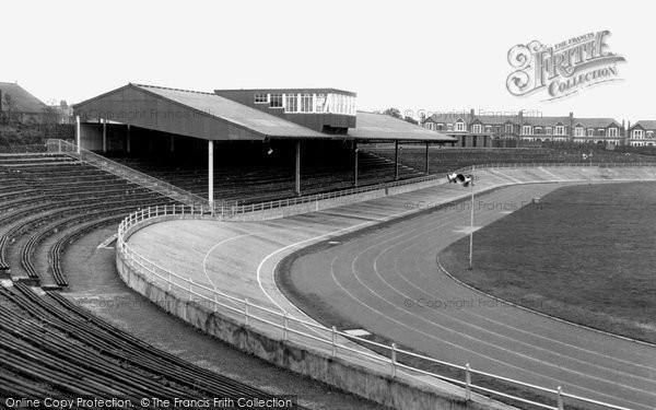Cardiff, Maindy Stadium c.1960