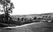 Carmarthen, From Mount Pleasant 1910