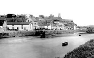 Carmarthen, The Riverside 1893