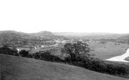 Carmarthen, Towy Valley 1893