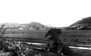 Carmarthen, Towy Valley From Parade 1893
