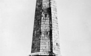 Carn Brea, The Monument c.1876