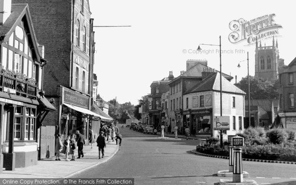 Caterham, Godstone Road 1948