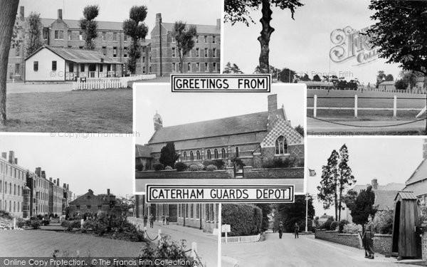Caterham, Guards Depot Composite c.1955