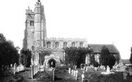 Cavendish, St Mary's Church 1904