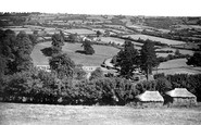 Chard, View From Yarcombe Hill c.1955